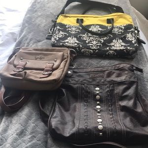 Handbags - Purses and laptop case
